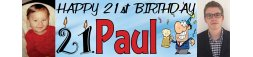21st Birthday Party Banner 5