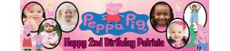 Peppa Pig Themed Birthday Banner