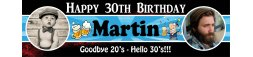 30th Birthday Party Banner 8