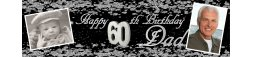 60th Birthday Party Banner 4