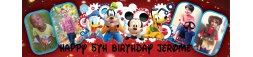 Mickey Mouse Themed Birthday Banner 2