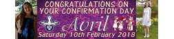 Confirmation Day Banner 1