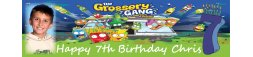 Grossery Gang Themed Birthday Party Banner