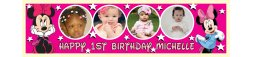 Minnie Mouse Themed Birthday Banner 3