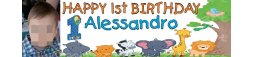 1st Birthday Party Banner 4