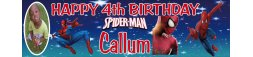4th Birthday Party Banner