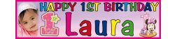 1st Birthday Party Banner 13