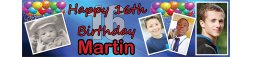 16th Birthday Party Banner
