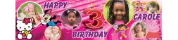 3rd Birthday Party Banner