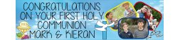 First Holy Communion Banner 3