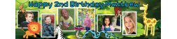 2nd Birthday Party Banner 4