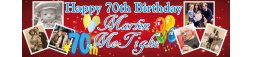 70th Birthday Party Banner 4