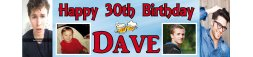 30th Birthday Party Banner 4