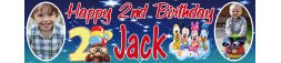 2nd Birthday Party Banner 2
