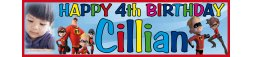 4th Birthday Party Banner 2