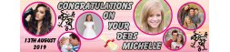 Debs (Graduation) Themed Party Banner 5