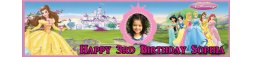 Disney Princess Themed Birthday Banner 4