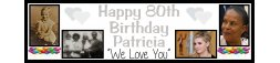 70th Birthday Party Banner