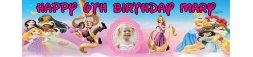 Rapunzel Theme Birthday Banner
