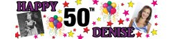 50th Birthday Party Banner 7