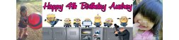Despicable Me Movie Themed Banner 2