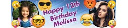 12th Birthday Party Banner 2