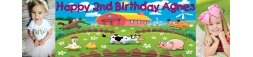 2nd Birthday Party Banner 3