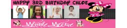 Minnie Mouse Themed Birthday Banner 4