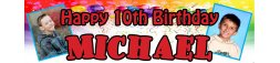 10th Birthday Party Banner