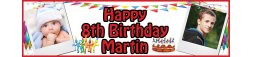 8th Birthday Party Banner 2