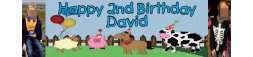 Animals Children Themed Banner