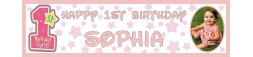 1st Birthday Party Banner 3