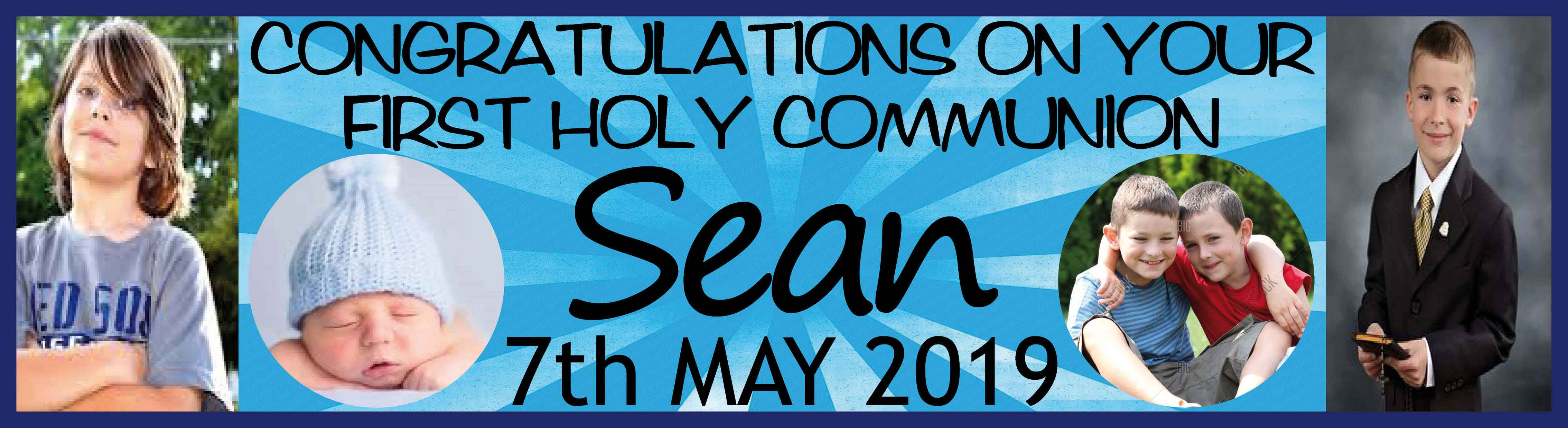 1st Holy Communion Banner 14