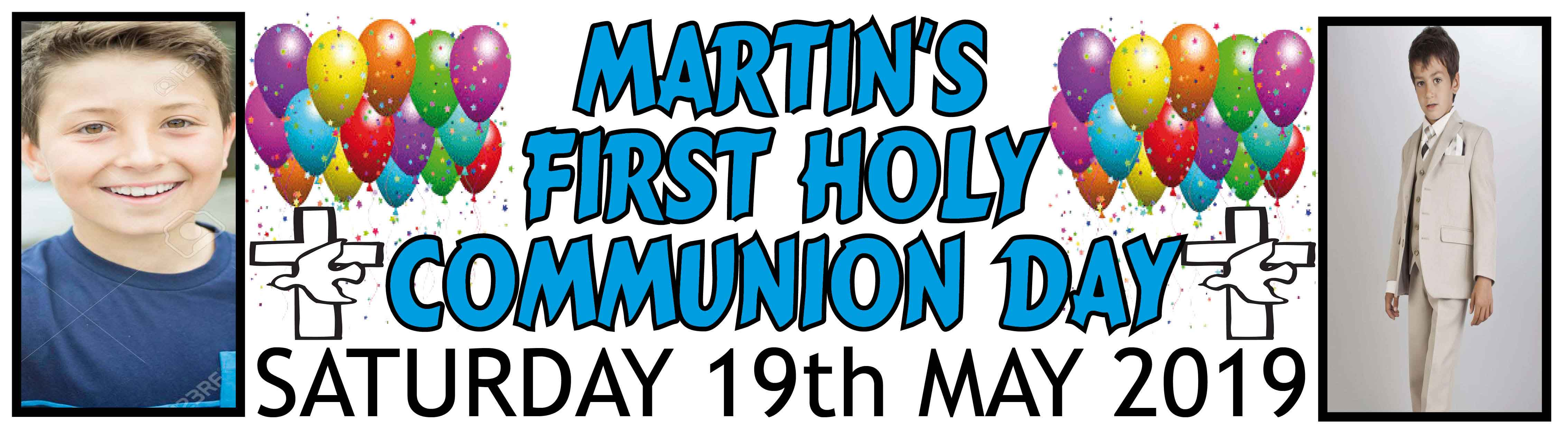 1st Holy Communion Banner 17