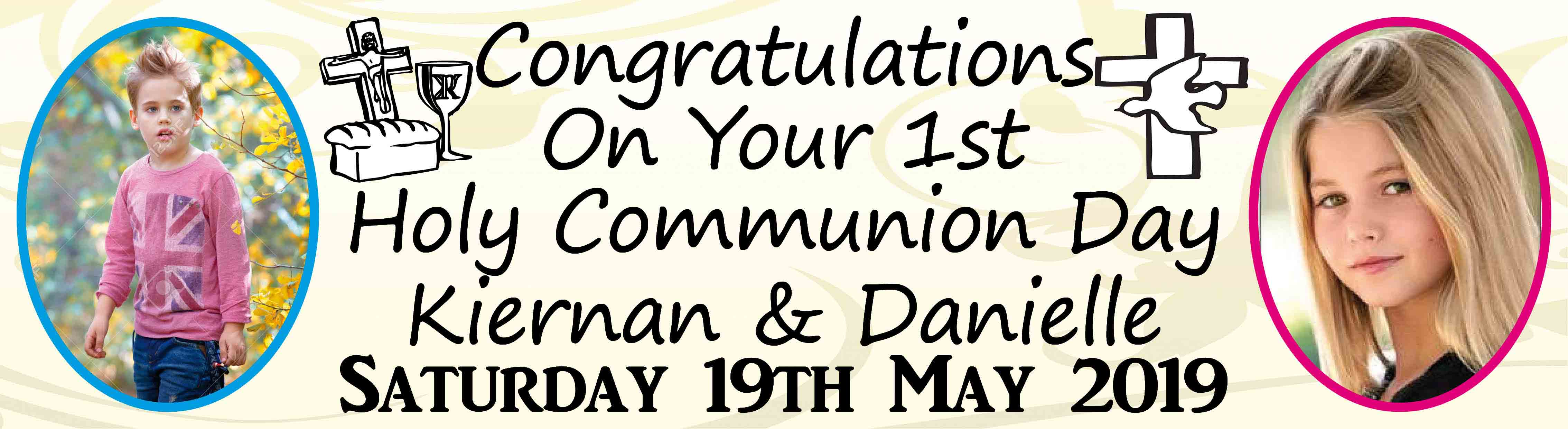 First Holy Communion Day Banner 5