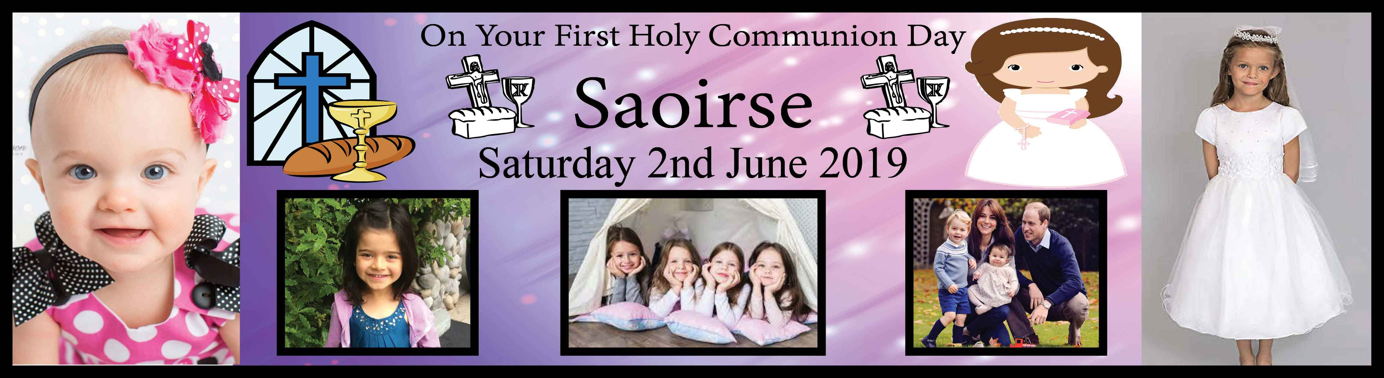 1st Holy Communion Banner 18