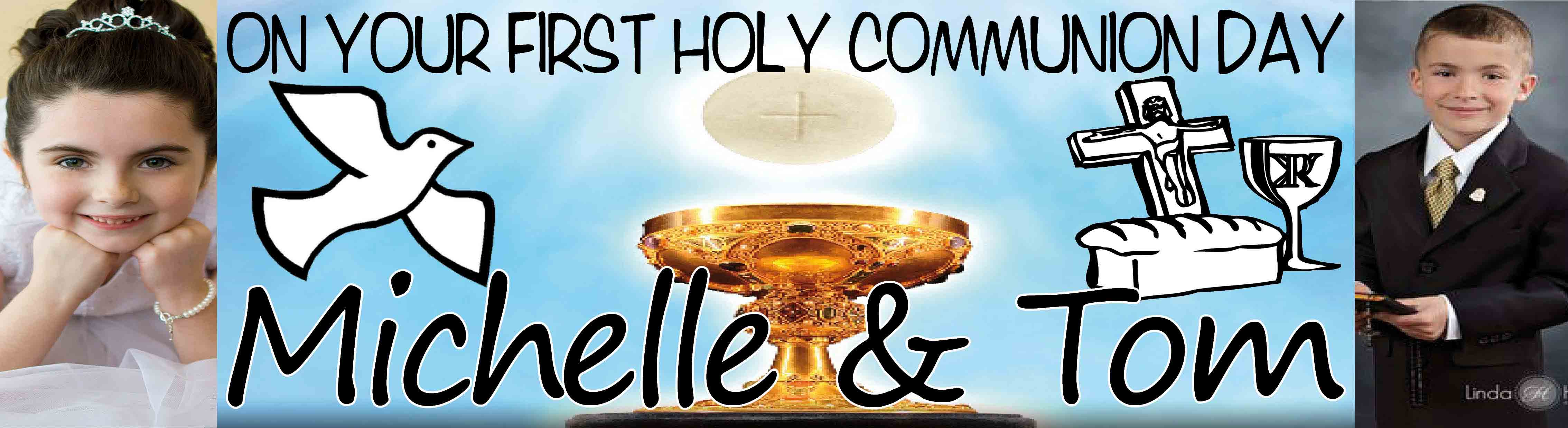 First Holy Communion Day Banner 4