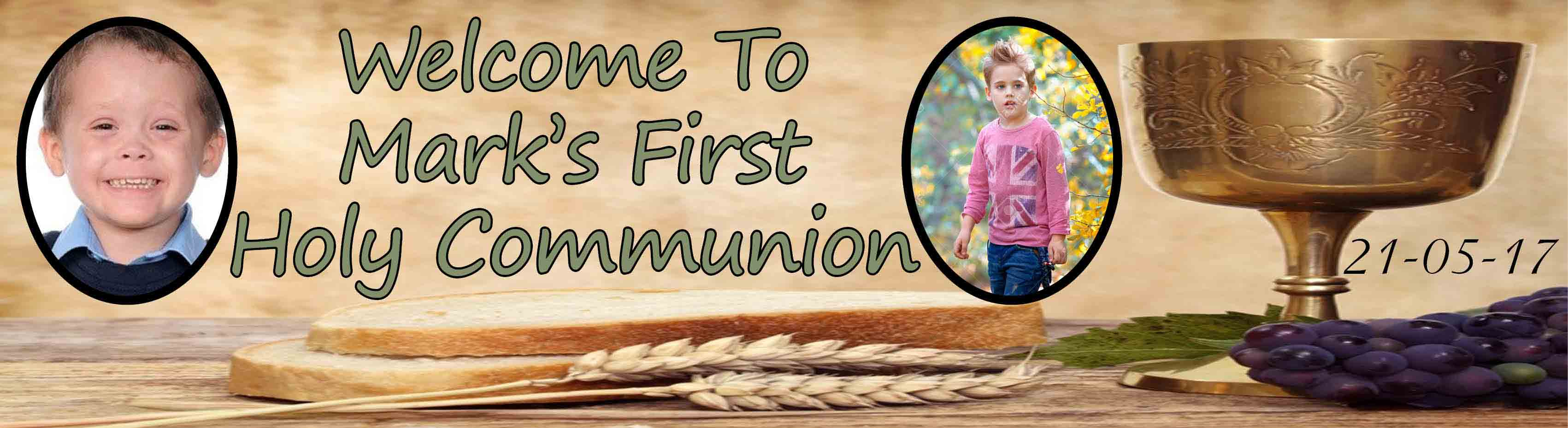 1st Holy Communion Banner 8