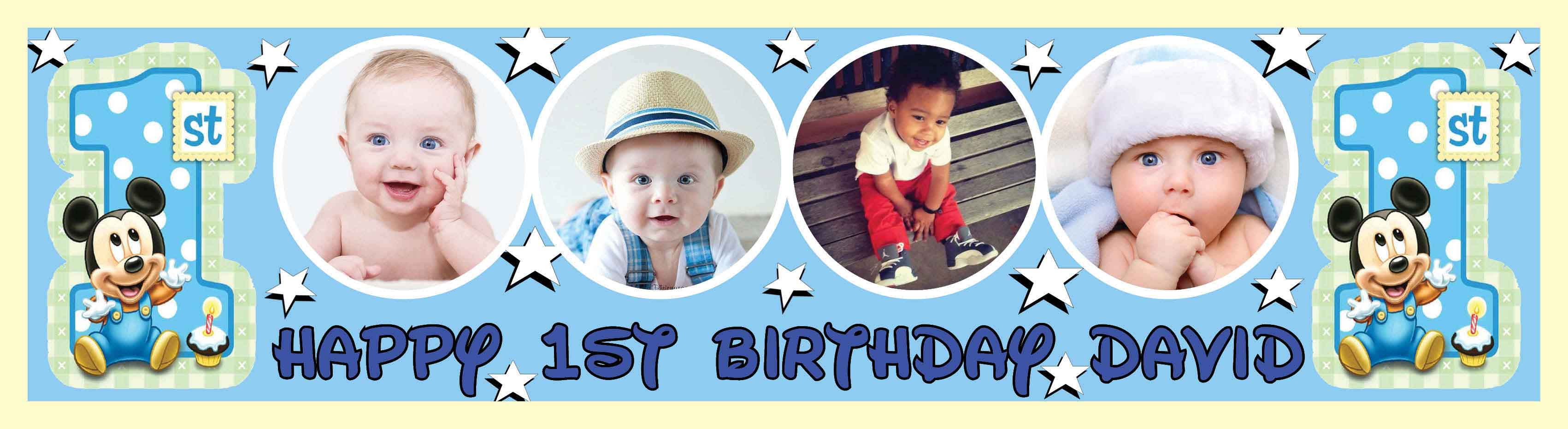 1st Birthday Party Banner 15