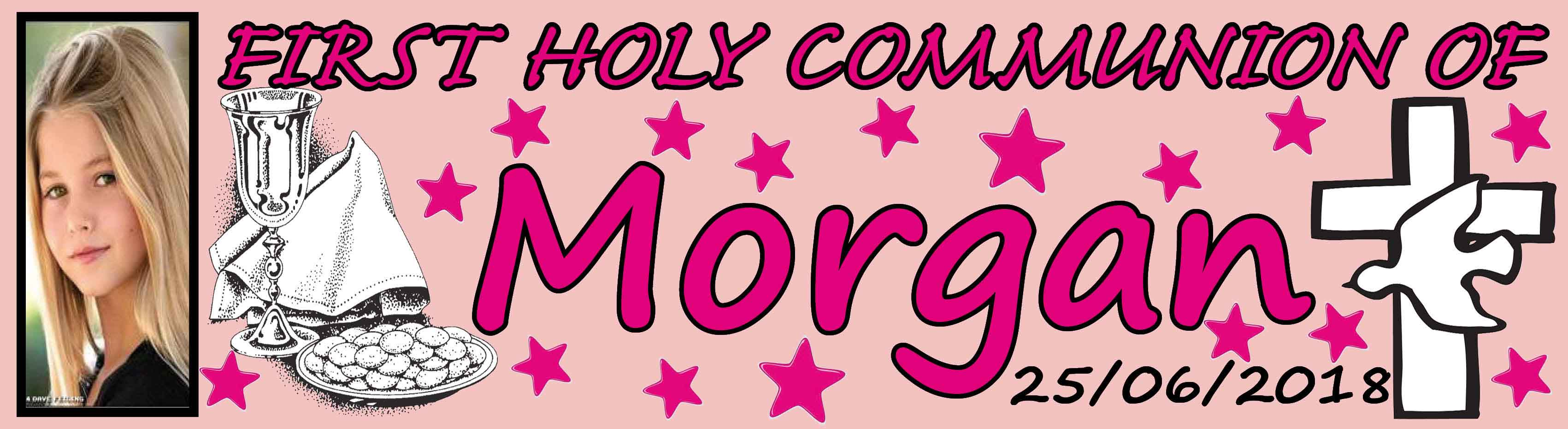 1st Holy Communion Banner 7