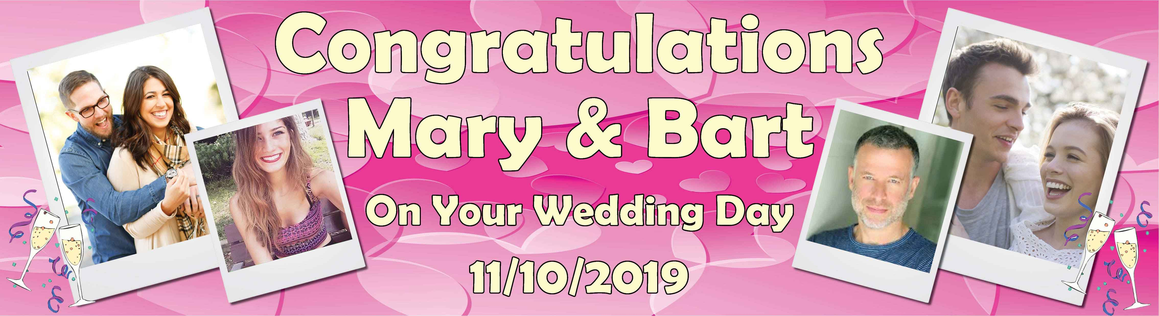 Wedding Day Banner 4